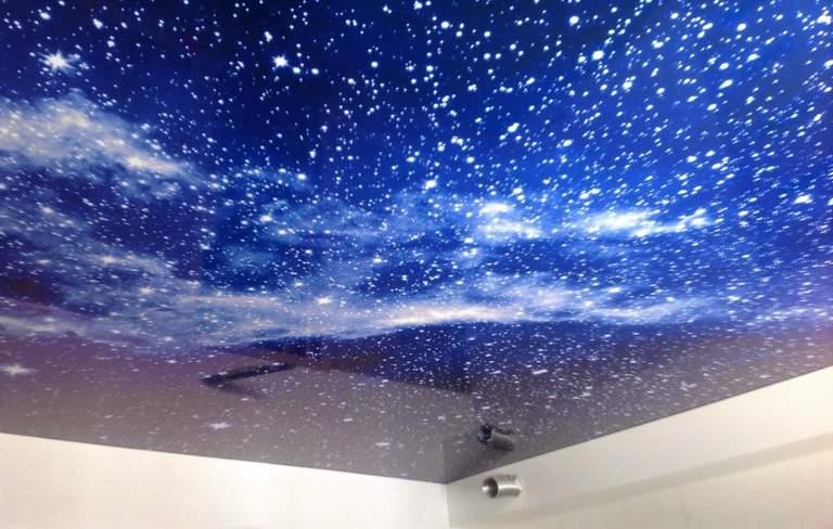 Звёздное небо и натяжные потолки Ижевск